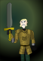 Brienne of tarth (COLLAB) by DoubleSNL