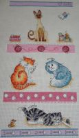 Love Cats Cross Stitch by Tishounette