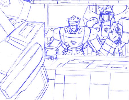 TLT - Mission Meeting - WIP by CoolFireBird