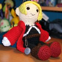 Edward Elric Crochet Plush by First-Mate-Kate