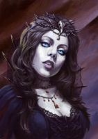 Vampiress by Lubial