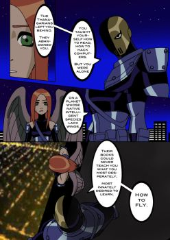 Teen Titans Fan Comic. Page 1 of 2 by RoxyRoo