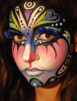 Fantasy Face Art by PaintOnYourFace