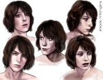 Albrecht Mesmer Portrait Studies by simplyyellow