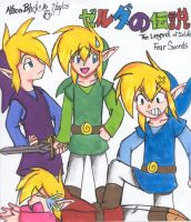 Link and His Mighty Clan by Tetra-chan