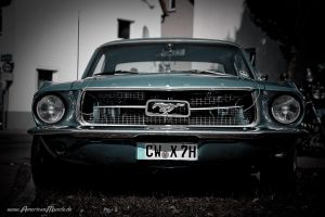 angry looking stang by AmericanMuscle