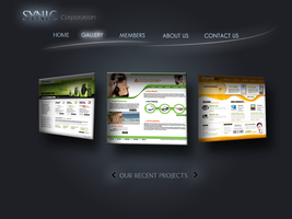New web template gallery by Anshartist