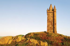 Scrabo Tower after Sunrise by Gerard1972