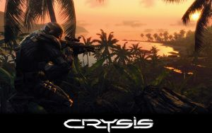 Crysis Sniper at dawn by lukeio999