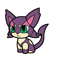 Purrloin Pokedoll Art by methuselah-alchemist