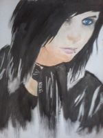Painting Black by FacelessMachine