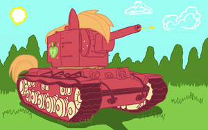Big Macintosh - KV-2 by AlVchFokarev
