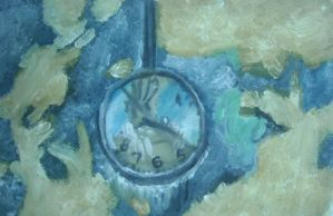 Melted Clock by QuixoticouS