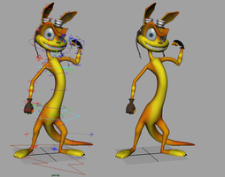 Daxter Rig Nearly Complete by thekeyofE