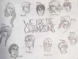 We are the champions by Ditchthesidewalk