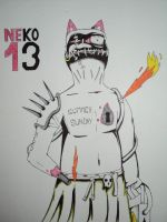 Neko 13: the messed up flamethrower by jokerpack