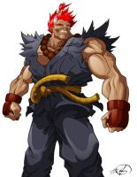 My Hero, Akuma aka Gouki by eienmic