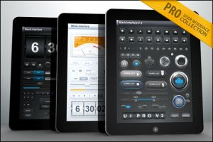 Tablet Phone UI PRO Collection by diegomonzon