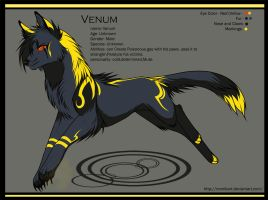 Venum - quick Ref sheet by Ronkeyroo