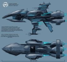 SoE exploration ship concept by N1ghtDrag0n
