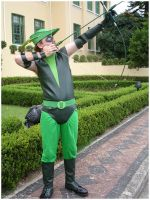 Green Arrow Cosplay by palchan