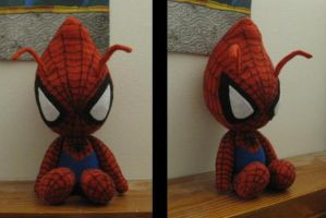 Spiderbi plush by aSourLemon