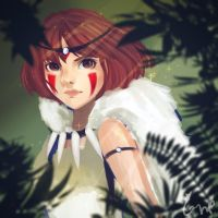 Princess Mononoke by PockySticky