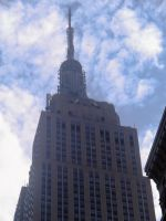 Close-Up Shot of Empire State Building by TheWizardofOzzy