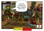 Guild Wars 2 RnR Roc and Roxy Funny Cartoons 82 by rocdisjoint
