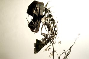 Scrap Metal Fishy - 1 by Devin-Francisco