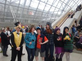 Gravity Falls - Group by FF7Kiribani
