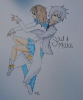 Favorite Couple: Soul and Maka by Valokuvaus-Valhe