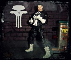 Punisher - Back In Black by PsychosisEvermore