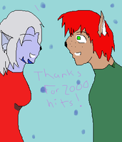 Thanks for 2000 Hits by rentao101