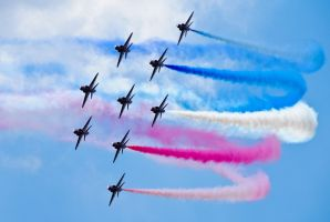 Red Arrows V by Colin-Moore