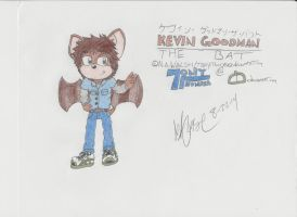 New Character:Kevin the Bat by Tonythunder