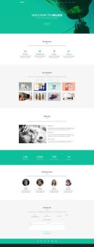 Helios - Free One Page Agency Template by templatewire
