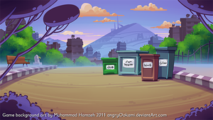 Eco-Game Background Art by 7amze
