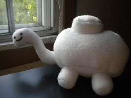 Mineturtle plushie by Stitched-Raven