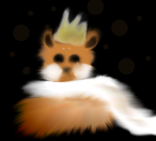 Hamster King David by DianTheMysterious