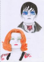 Barnabas and Julia by mary-DBBC