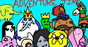 Adventure Time Chara. Mash Up by Lady-of-Ratatosk