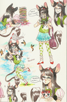 shenzino - copic sketch page comm by alpacasovereign