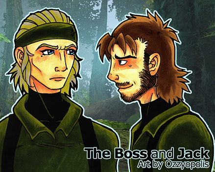 The Boss and Jack by ozzyopolis