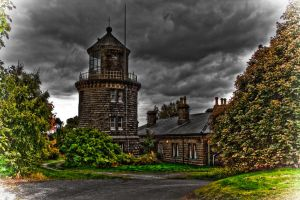 Bidston Lighthouse by LuntPhotography