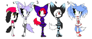 Sonic Adoptables 5 +CLOSED+ by Sky-Yoshi