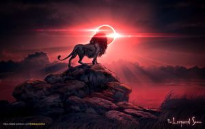 The Leopard Sun _ Eclipsed by balaa
