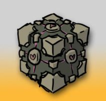 Weighted Companion Cube by JackHook