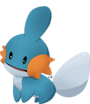 Curious Mudkip by ClefairyKid