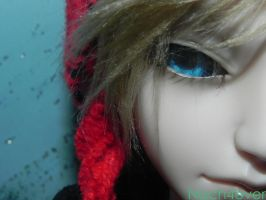 Half of Doll's Face by Nach4ever